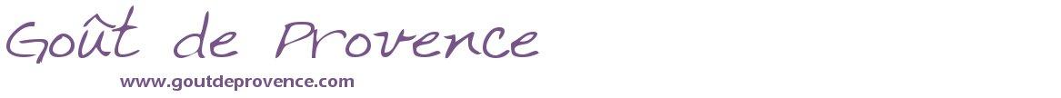 Gout de Provence Tout les produits de Provence en ligne